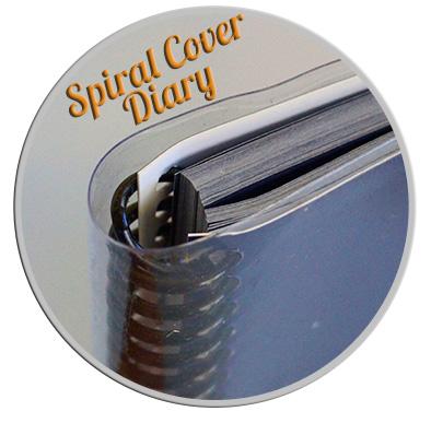 Spiral Diary Printing_Diary Design